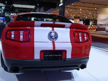 2010 Ford Mustang Shelby GT500 Rear Square