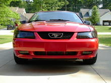 It needs a mach 1 chin spoiler.  Sad how I look at my car and only think about what I want to change.