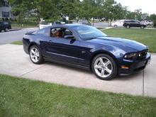 Grett's Kona Blue 2010 Mustang GT