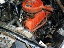 pre-resto engine compartment. eeww!