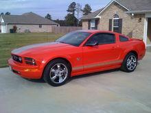 2009 Torch Red V6