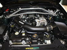 Top view with Roush Strut tower brace