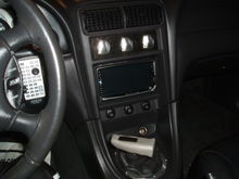 The Kenwood DVD headunit...
