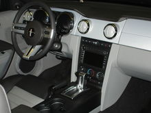 Black with Dove interior, DVD Navigation with Sirius, Shaker 500 audio, ambient lighting