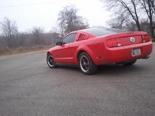 My little Stang :)