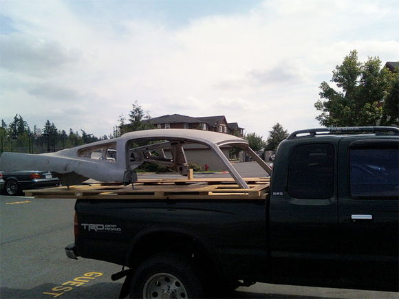 Roof on Truck