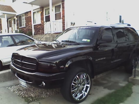 99 durango 5.9rt, my daily driver