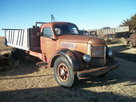 1948 KB7 IHC International farm grain winch truck