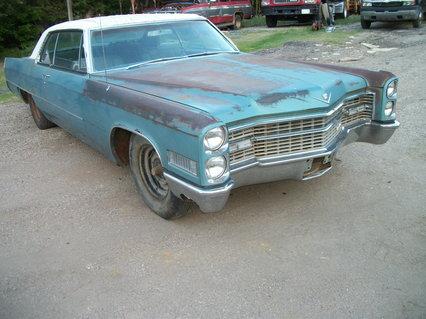 1966 Cadillac Coupe De Ville 2 dr hardtop