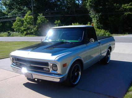 1968 Chevrolet C10 Pickup All-Steel Pickup Restore