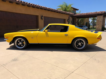 1973 Camaro Z28 Pro Touring Re-creation All New