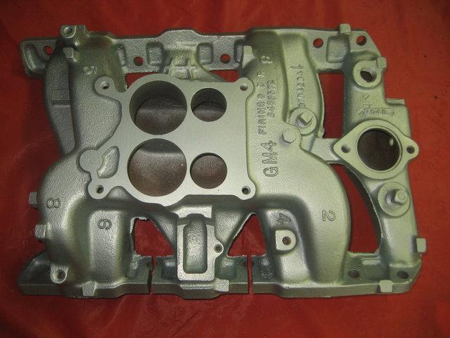1969 Pontiac and GTO Intake Manifold