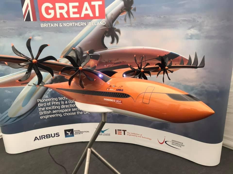 Airbus Bird of Prey unveiled - PPRuNe Forums