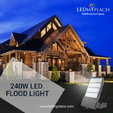 Get Attractive Rebates & Incentives by using 240W LED Fl  for sale $217