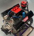 430 Draime 18 degree Aluminum Dirt Late Model Engine