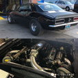 1967 Chevy Camaro Twin Turbo LSX Stock suspension Radial car