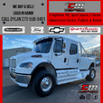 We BUY FREIGHTLINER KENWORTH SPORT CHASSIS INTERNATIONAL