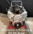 MTI Racing LS1 5.7L  514hp & 424 ft/lb torque