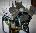 SBC 434 PRO STREET MOTOR, AFR HEADS, CRATE MOTOR 670 hp BASE  for sale $7,995
