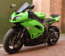 2012 Kawasaki ZX-6R Ninja, only 5,200 miles  for sale $5,900