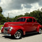 1939 Ford Street Rod Coupe Steel Body
