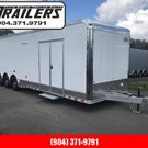 2019 34'  Aluminum Frame LOADED Eliminator Race Trailer by C