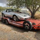 Pro Street corvette