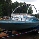 Glastron Jet Boat Loaded