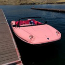 Boat that looks like a Porsche !