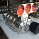 1471 Littlefield blower polished aluminum fresh rebuild vint