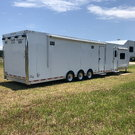 Move up to ATC; 50' Car Hauler with Custom Living Quarters
