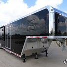 2018 inTech 44' Gooseneck Race Trailer with Bathroom