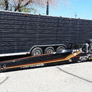 NHRA Top Alcohol Dragster With 44' Trailer = Complete Racing