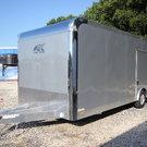 2019 ATC Quest CH205 24ft Enclosed Aluminum Car Trailer