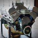 SBC 434 PRO STREET MOTOR, AFR HEADS, CRATE MOTOR 670 hp BASE