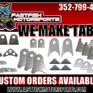 Fastfish Motorsports Now Makes Tabs!! Custom Orders Availabl