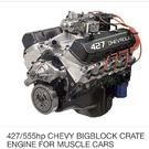 Chevy 427/555hp Big Block