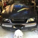 """Wizard II"" 25.5 275 Drag Radial 2001 Mustang"