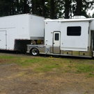 Toter and trailer only 41,000 miles All new tires