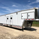 50' Featherlite race trailer