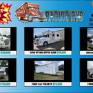 RACING RVS BLOWOUT SALE