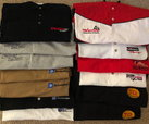 polo style collared race shirts  for sale $50