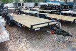 18 ft Wood Deck Car Hauler