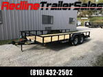 "2018 Big Tex Trailers 83""x 20' Utility Trailer *Tandem Axle*"