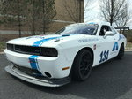 11 Dodge Challenger Race Car - Body on White - Arrington Mot