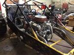 Drag racing dune buggy
