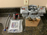 Holley T4 850 Carb w Induction Solutions Nitrous Plate