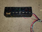 Painless 8 switch panel with fuses