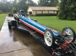 1993 mike boss dragster and trailer