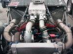 Aluminum 598 CI Turbo Engine Capable Of 3500 Horsepower